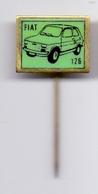 Pin FIAT 126  Car Automobilia - Fiat