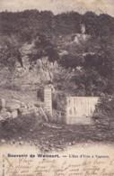 Souvenir De Walcourt L'Eau D'Yves à Vogenée Circulée En 1903 - Walcourt