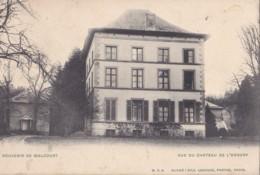 Vue Du Château De L'Ennery Circulée En 1909 - Walcourt
