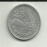 2 1/2 Meticáis 1980 Moçambique - Mozambique