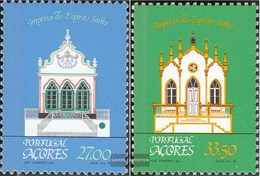 Portugal - Azores 354-355 (complete.issue.) FDC 1982 Regional Architecture: Chapels - Azores