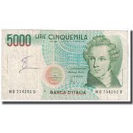 Billet, Italie, 5000 Lire, 1985, 1985-01-04, KM:111c, TB - [ 2] 1946-… : Républic