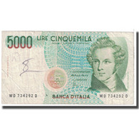 Billet, Italie, 5000 Lire, 1985, 1985-01-04, KM:111c, TB - [ 2] 1946-… : Repubblica