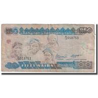 Billet, Nigéria, 50 Naira, 2001, KM:27c, TB - Nigeria