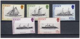 Jersey - 1978 - Nuovo/new MNH - Navi - Mi N. 187/91 - Jersey