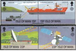 Isola Di Man - 1988 - Nuovo/new MNH - Comunicazioni - Mi N. 367/70 - Isola Di Man