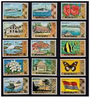 Kiribati - 1979 - Nuovo/new MNH - Serie Ordinaria - Mi N. 322/35+353 - Kiribati (1979-...)