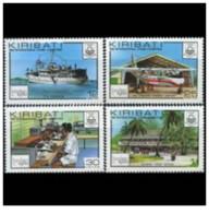 Kiribati - 1980 - Nuovo/new MNH - Expo London - Mi N. 349/52 - Kiribati (1979-...)