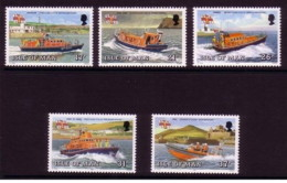 Isola Di Man - 1991 - Usato/used - Navi - Mi N. 459/63 - Isola Di Man