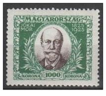 Ungheria - 1925 - Nuovo/new MH - Jokai - Mi N. 398 - Ungheria