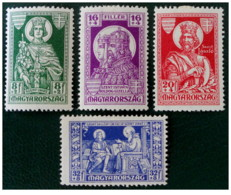 Ungheria - 1930 - Nuovo/new MH - Emmerich - Mi N. 463/66 - Ungheria