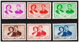 Iran - 1951 - Nuovo/new MH - Coppia Reale - Mi N. 840/45 - Iran