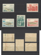 Iran - 1954 - Nuovo/new MNH - Industria Del Pesce - Mi N. 898/902 - Iran