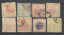 Persia - 1902 - Usato/used - Sovrastampati - Iran
