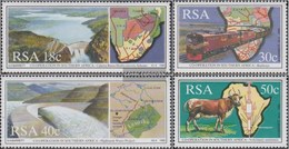 South Africa 789-792 (complete Issue) FDC 1990 Co In Africa - FDC