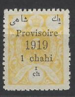 Persia - 1919 - Nuovo/new MH - Sovrastampati - Mi N. 441 - Iran