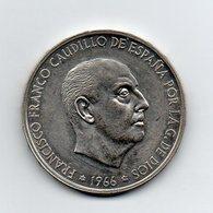 Spagna - 1966 - 100 Pesetas -  Argento - (MW1862) - [ 5] 1949-… : Regno