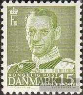 Denmark 302II Type II Unmounted Mint / Never Hinged 1948 Clear Brands: King Frederik IX. - Danimarca