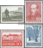 Denmark 440y,441y,442y,443y (complete.issue.) Unmounted Mint / Never Hinged 1966 Heide, Kold, Monumental - Denmark