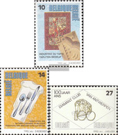 Belgium 2497-2499 (complete Issue) Unmounted Mint / Never Hinged 1992 Occupations - Belgium