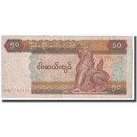 Billet, Myanmar, 50 Kyats, 1997, KM:73b, TB - Myanmar