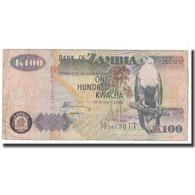 Billet, Zambie, 100 Kwacha, 2006, KM:38f, B - Zambie