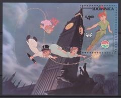 2439  Walt Disney   Commonwealth Of Dominica   1980  ( Christmas 1980 ) Peter Pan  . - Disney