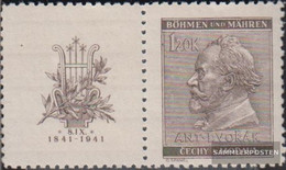 Bohemia And Moravia WZd24 Unmounted Mint / Never Hinged 1941 Dvork - Bohemia & Moravia
