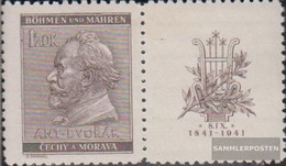 Bohemia And Moravia WZd21 Unmounted Mint / Never Hinged 1941 Dvork - Unused Stamps