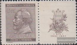 Bohemia And Moravia WZd21 Unmounted Mint / Never Hinged 1941 Dvork - Bohemia & Moravia