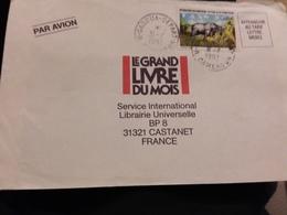 Cameroun. Lettre Garoua Depart 31/7/92 Pour Castanet France - Cameroon (1960-...)