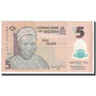 Billet, Nigéria, 5 Naira, 2013, KM:38, TTB - Nigeria