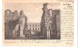 Les Ruines D'Orval (Florenville)-Abbaye-Trappiste-1901-Précurseur-Oblitération Arlon Et La Louvière-Edit.Nels S. 32 N°11 - Florenville