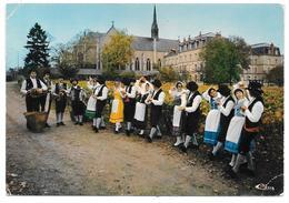 """21 - DIJON - Groupe Folklorique """"La Bourguignonne"""" - Au Domaine De La Providence - Fêtes Internationales De La Vigne - Dijon"""