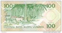 VANUATU  P. 1a 100 V 1982 UNC - Vanuatu