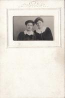 2 Frauen - Foto In Passepartout Karte, Gel.1911 - Gruss Aus.../ Grüsse Aus...