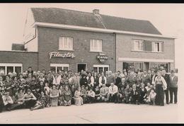 DIKKELVENNE  -  1973 - FOTO 15 X 10 CM -   CAFE FILMSTER - SPAARMAATSCHAPPIJ JAARLIJKS FEEST - Gavere