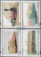Poland 3541-3544 Couples (complete.issue.) Fine Used / Cancelled 1995 Railway - 1944-.... République