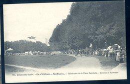 Cpa Du 17  Ile D' Oléron St Pierre Vélodrome De La Place Gambetta Courses Et Kermesse      YN10 - Ile D'Oléron