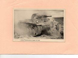 Carte Postale - CHAR - Unsere Panzermotore Singen Ihr Lied - Matériel