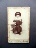 Fotografia Artistica Contrada Castellero Modena Primo Novecento Bambina Costume - Photos