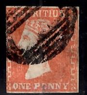 Maurice YT N° 9 Oblitéré. Signé. Rare! A Saisir! - Mauritius (...-1967)