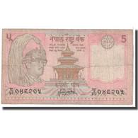 Billet, Népal, 5 Rupees, 1987, KM:30a, B - Népal