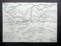 Tourist Map Of Ehrwald Ausserfern District Tirolo Simkowsky Vienna Turismo Alpi - Altri