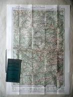 Carta Turistica Delle Dolomiti Occidentali Scala 1:100000 Freytag Berndt Vienna - Altre Collezioni