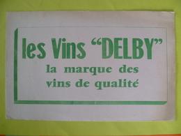 Buvard  Les Vins DELBY - Blotters