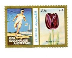 1928 AMSTERDAM SUMMER OLYMPIC GAME JUEGOS OLIMPICOS FUJEIRA OBLITERATED -LILHU - Summer 1928: Amsterdam