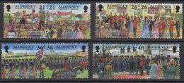 Alderney 2000 Garnison 8v ** Mnh (41316F) - Alderney