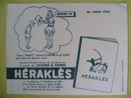 Buvard  HERAKLES Cahiers Et Copies - Blotters