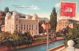 Bosnie / 04 - Sarajevo - Der Israelitische Tempel - Judaica - Belle Oblitération - Bosnia And Herzegovina